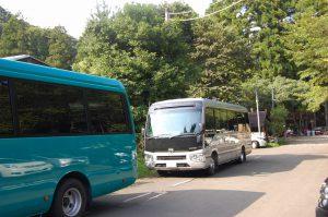 移動したバス