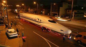 新幹線の輸送